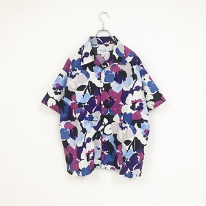 FLOWER SHIRT(PURPLE)