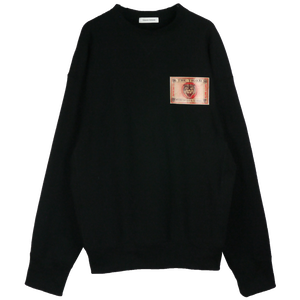 LEATHER PATCH SWEAT