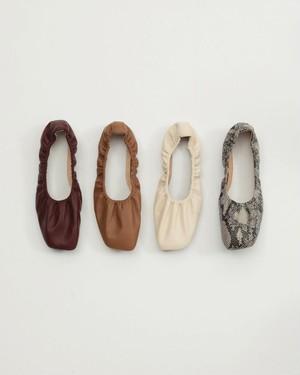 Shirring Ballet Shoes 11921075 TODAYFUL トゥデイフル