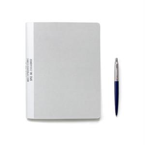 【ネコポス対応】MUCU Blank Note グレー Mサイズ