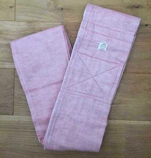 [おくるみスリング]新しく縫いあがりました! 綿二重ガーゼ/ピンク