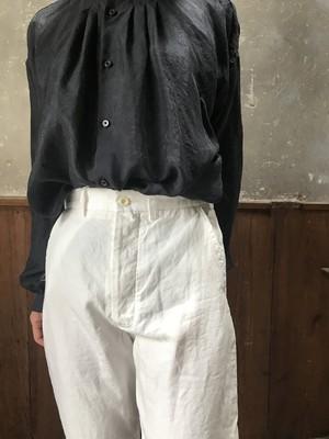 Kaval Narrow Work Pant  | Black・Off white