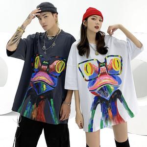 【トップス】キュートストリート系カジュアルプリントTシャツ30678143