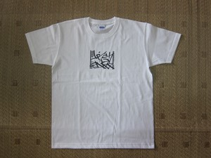 Priority Mail Tee  White/ Black