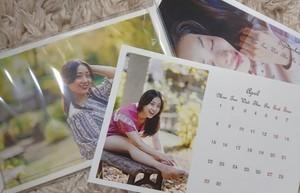 美羽希。2019年度 卓上カレンダー