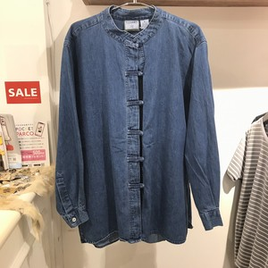 """vintage"" denim shirt"