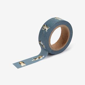 【デコレクションズ】マスキングテープ「Beagle」【mt-117】