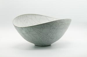 炭入り楕円鉢