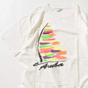 【XXLサイズ】Arula アルーラ TEE 半袖Tシャツ WHT ホワイト XXL 400601191042
