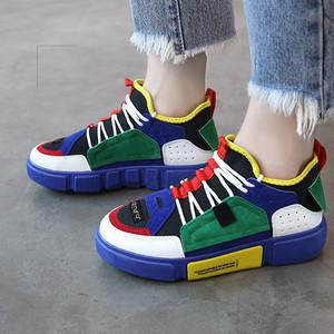 【sneaker】2018 new sports  breathable walking Sneakers