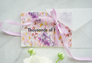 "Blooming Postcard ""Thousands of Hearts""/ポストカードセット"