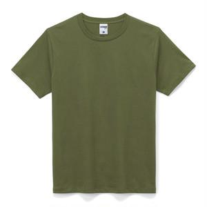 ライト クルーネックTシャツ (半袖) カーキ