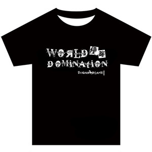 【オフィシャルTシャツ】WORLD DOMINATION (特典券1枚付き)