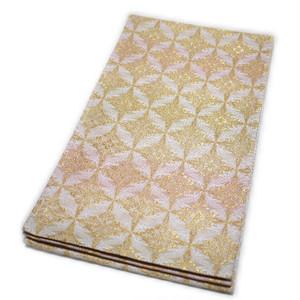 京都西陣織 仕立て上がり袋帯(有職文様:鳥襷)礼装:フォーマル 日本製 [110181]