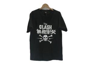 "THE CLASH ""無線衝突"" BAND T SHIRT"