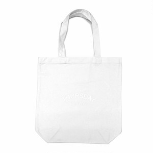 THURSDAY - ARCH TOTE BAG (White)