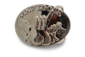 """Hang Loose Kook"" Belt Buckle"