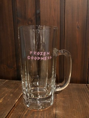 """FROZEN GOODNESS PINK"" BEER BIG MUG"