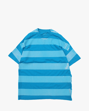 EZ DO by EACHTIME. Print Border T-Shirt  Turquoise