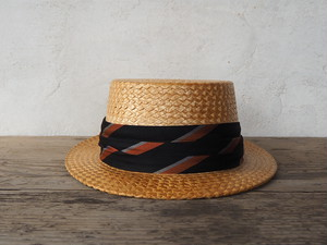 Dobbs Boater hat (made in Italy)