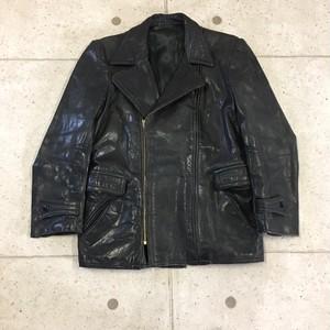 40s ホースハイド ダブル レザージャケット