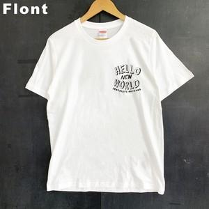 Hello new worid Tシャツ【オリジナルTシャツ】