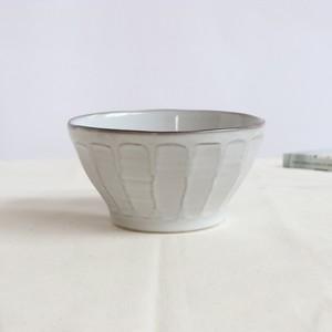 【SL-0024】磁器 13cm カフェオレボウル グレー