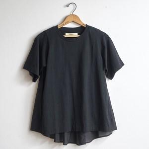 suzuki takayuki スズキタカユキ combination t-shirt コンビネーションTシャツ ブラック  (レディース)
