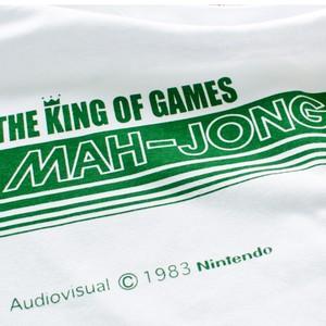 マージャン ラインTシャツ/ THE KING OF GAMES