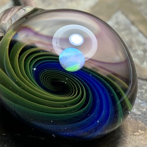 Aurora spiral opal