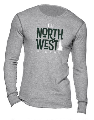 Treed Up Thermal / Grey Heather