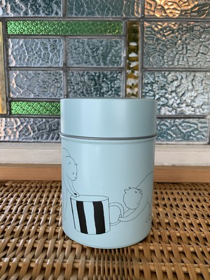 Coffee Canister Cat 和田淳 LIGHT GREEN