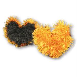 <ハロウィン数量限定> 歯みがきおもちゃ オーマロー ハート(ブラック&オレンジ)