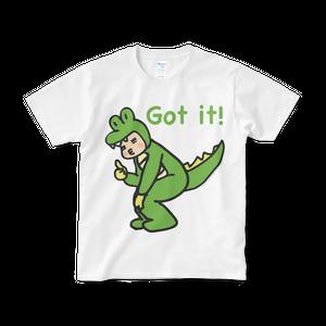 Ally Got it! Tシャツ(白)