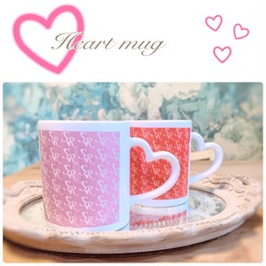 【SweetRoomオリジナル】ラッキーカラーハートのマグカップ