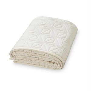 "Cam Cam Junior Signature Quilt "" Creme White """