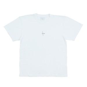 T-SHIRT <Black Logo × White>