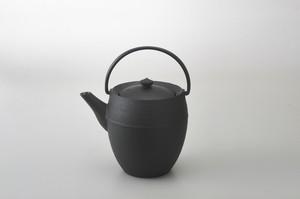 ティポット・丸筒・L 黒