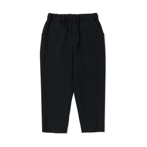 TPS WIDE TAPERED PANTS - BLACK
