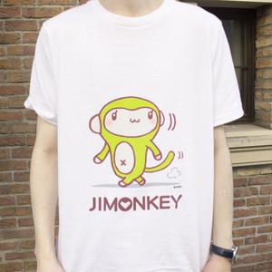 ジモンキーTシャツ(白)