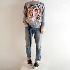 kurry 1off stencil sweatshirt John