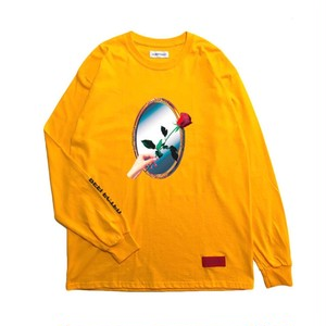 LILWHITEDOT - REFLECTED L/S TEE (ORANGE) -