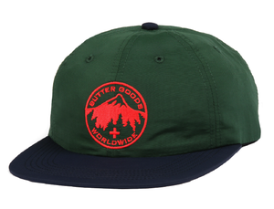 BUTTER GOODS PEAK 6 PANEL CAP