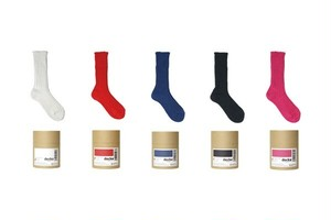【Women'sSize】decka Cased heavy weight plain socks -2nd collection-