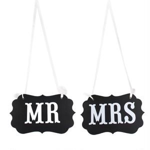 """フォトプロップス """"Mr. & Mrs."""""""