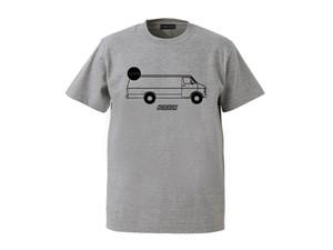 T-SHIRT M319104-GRAY / Tシャツ グレー GRAY  / MARATHON JACKSON マラソン ジャクソン