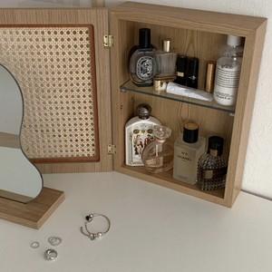 cane perfume storage / ラタン ウォールシェルフ 韓国 北欧