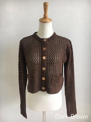 Bilitis dix-sept ans  Silk knit cardigan