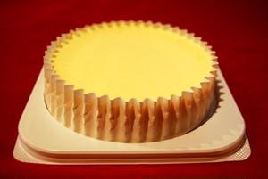 白いベークドチーズケーキ4号size 1台