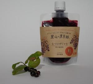 里山の黒真珠なつはぜじゃむ(低糖粒)
